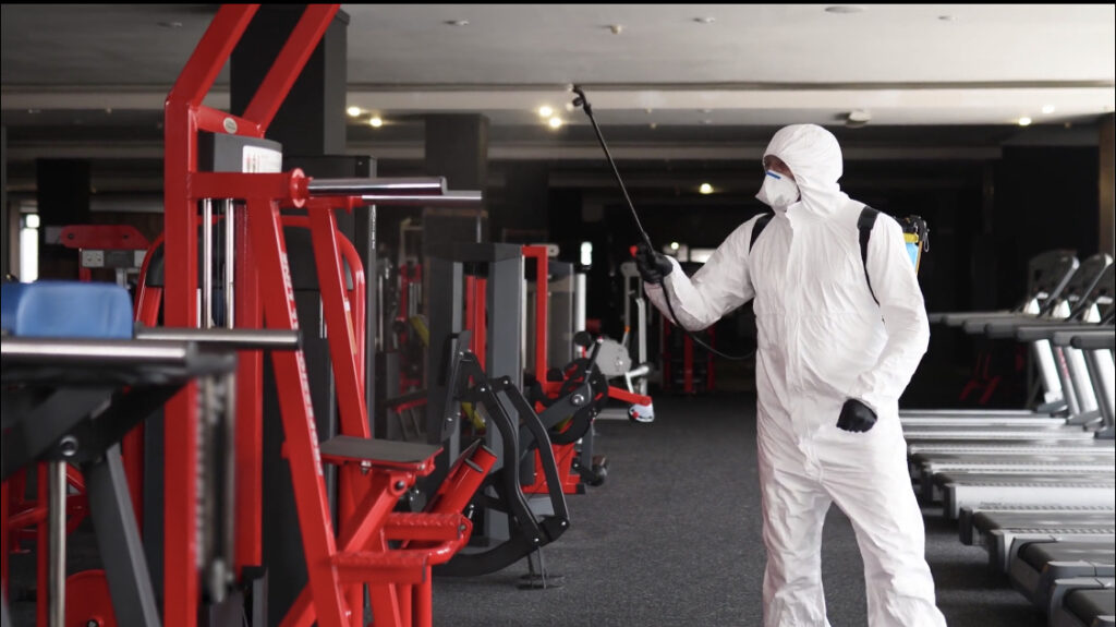 Disinfecting a Gym in NYC - Cleaning and Sanitization Services