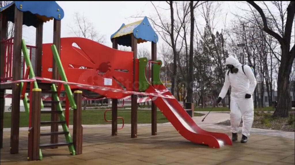 Playground Disinfection Cleaning Service NYC